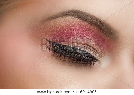 Eye With  Fashion Make-up