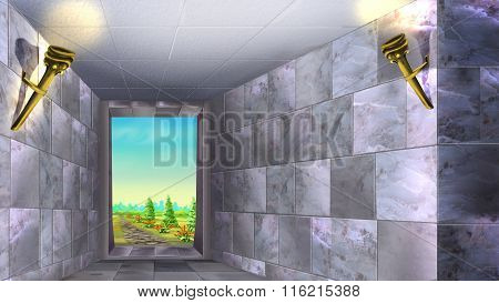 Marble Walls of the Ancient Maze 01