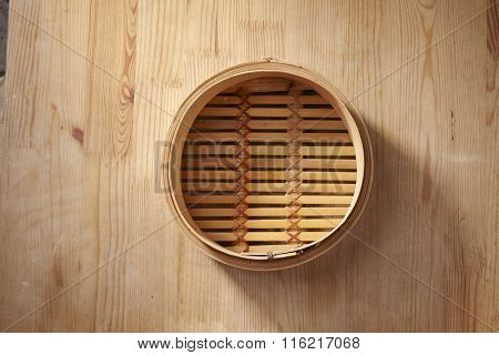 Bamboo steamer, chinese kitchenware