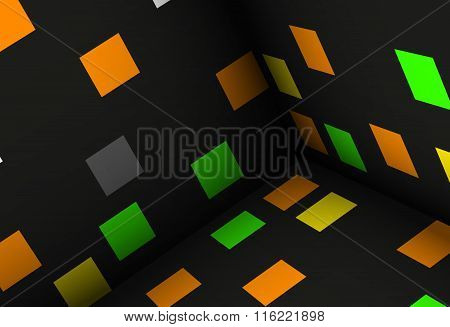 cubes abstract background illustr