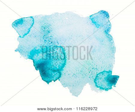 Watercolor Texture, Background, Blots