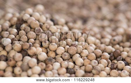 White Peppercorns (background Image)