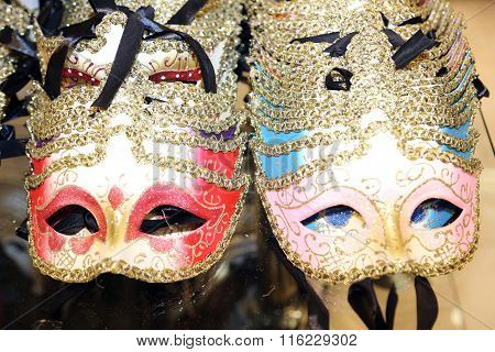 Venice Italian Carnival Mask For Sale In The Shop