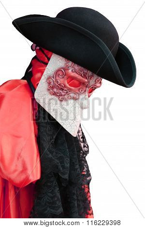 Italy Venice Carnival Costume Of An Ancient Noble Venetian
