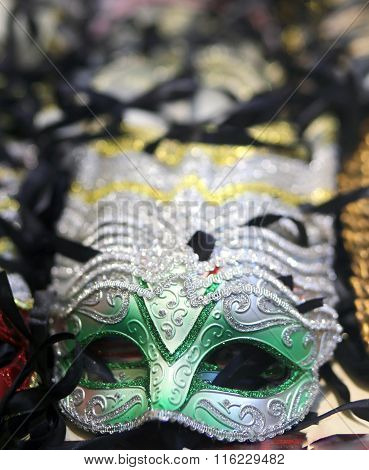 Venice Green Mask For Sale In The Shop