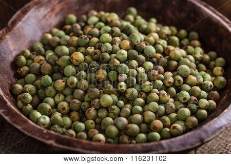 Whole Green Peppercorns