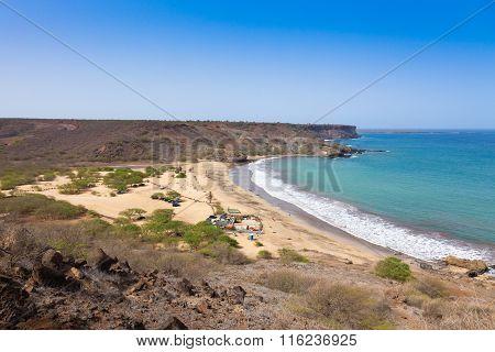 Sao Francisco Beach In Santiago In Cape Verde - Cabo Verde