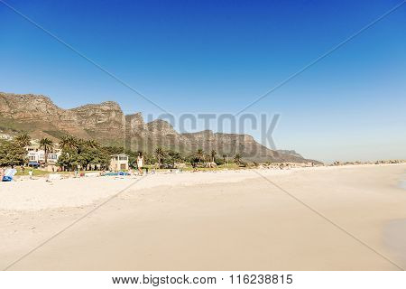 Beach In Cape Town, South Africa