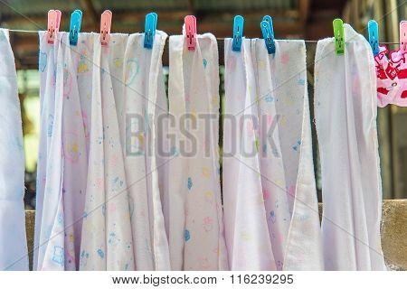 Diaper Hanging