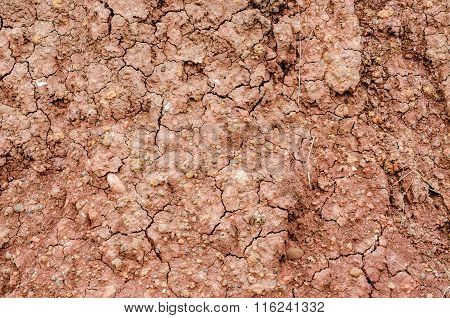 Crack soil on dry season Effect of Global worming Soil background and texture