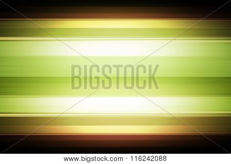 Green Striped Background With Spotlight