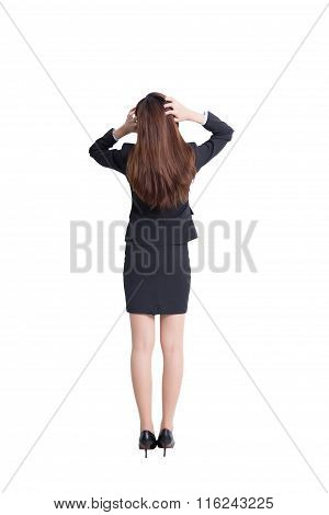 Business Woman Think
