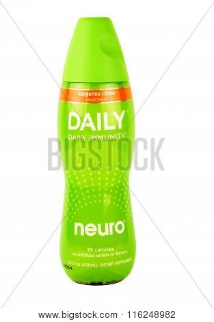 Bottle Of Neuro Daily Immunity Drink