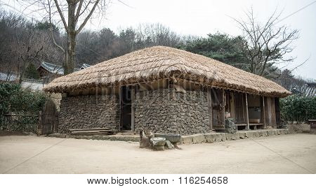 Traditional Houses In Korea