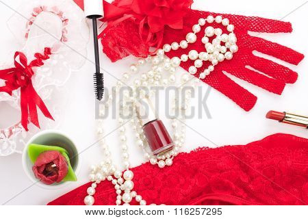 Valentine's Day romantic accessories