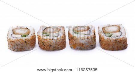 Spicy Ebi Maki Sushi