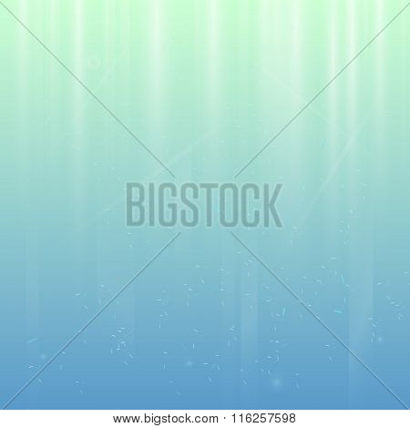 Abstract Blue Background Beam Fall