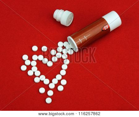 Tablets from heart disease