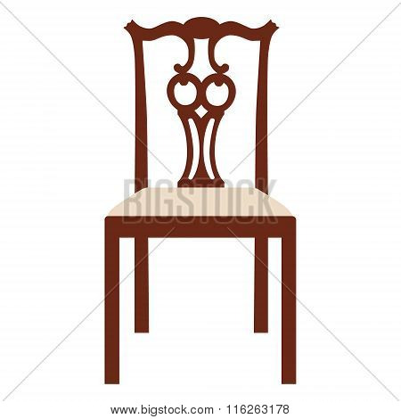 Vintage Elegant Chair