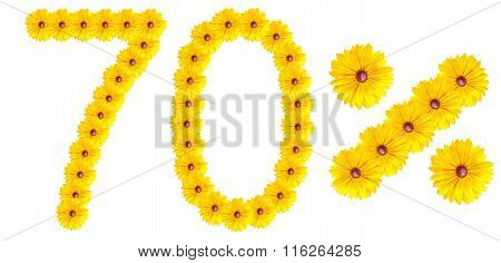 Figures 70% Of The Letters Written By Flowers