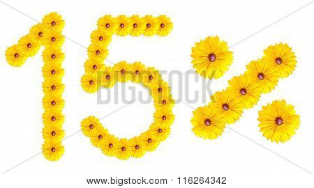 Figures 15% Of The Letters Written By Flowers