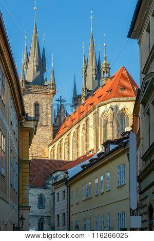 Prague. Tyn Church.