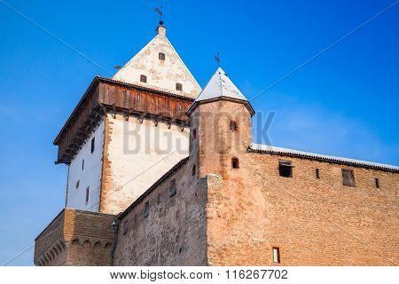 Herman Castle Or Hermanni Linnus, Narva. Estonia