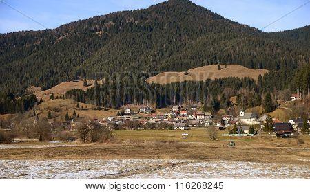 Ratece village, Planica, Slovenia