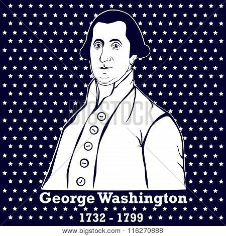 Silhouette George Washington