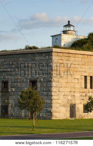 Old Lighthouse and Fort Provide Popular Attraction