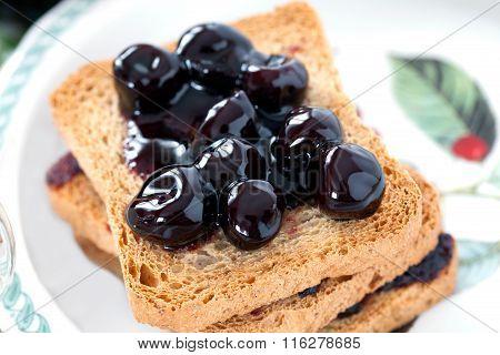 Sour Cherries Jam