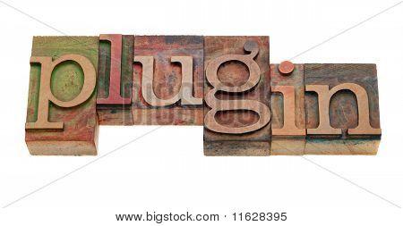 Plugin - Word In Letterpress Type