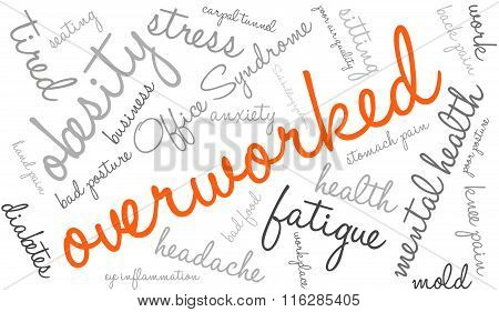 Overworked Word Cloud