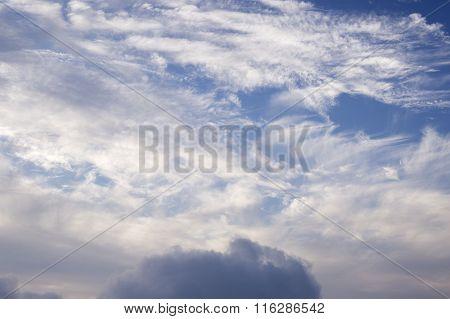 Clound And Blue Sky