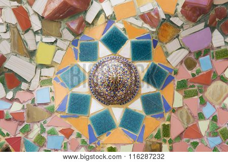 Texture Of Ceramic Wall