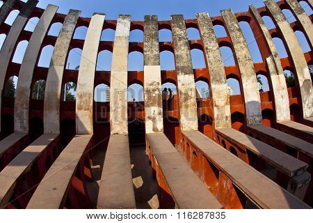 Astronomical Observatory Jantar Mantar In Delhi
