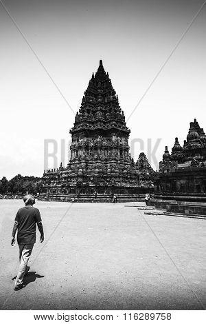 Walking through Prambanan