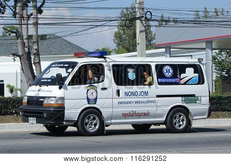 Ambulance Van Of Nongjom Subdistrict Administrative Organization