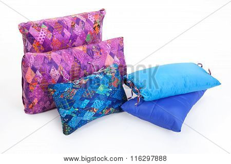 Multicoloured Down Pillows