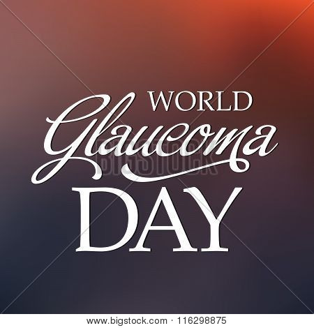 World Glaucoma Day