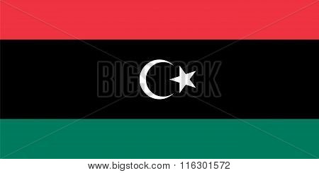 Standard Proportions For Libya Flag