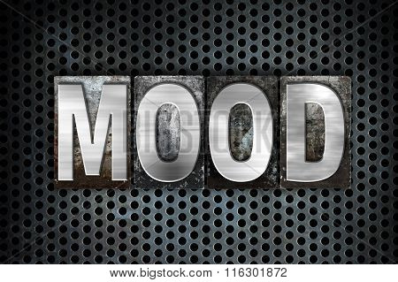 Mood Concept Metal Letterpress Type
