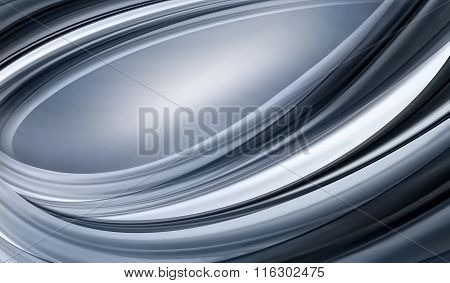 abstract chrome background