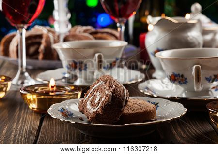 Cake On The High Tea Set