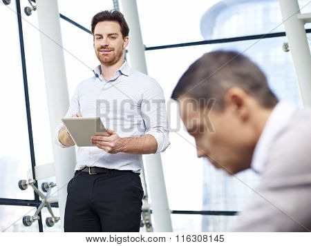 Corporate People Working In Office