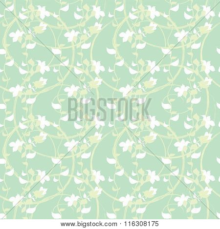 spring Abstract floral Seamless Pattern