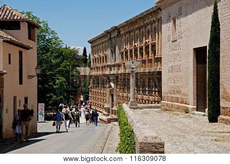 Charles V Palace, Alhambra Palace.