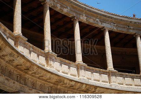Charles V Palace building, Alhambra Palace.