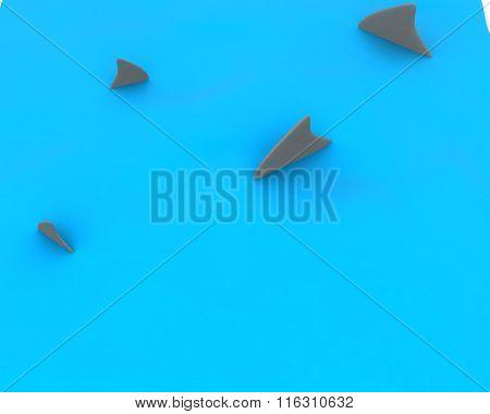 3D Shark Finning Concept