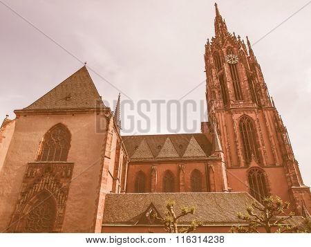 Frankfurt Cathedral Vintage